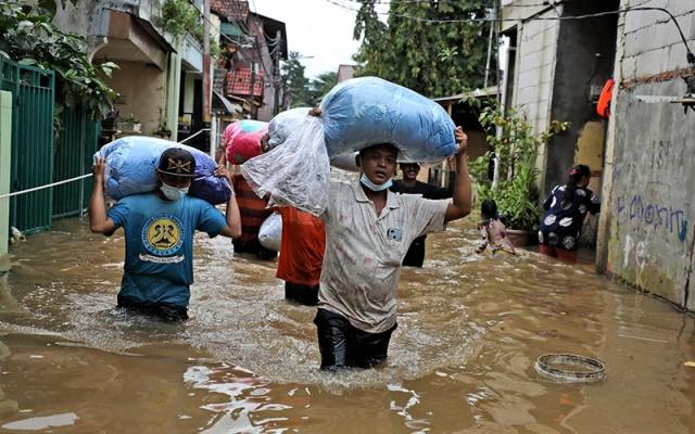 Jakarta, Indonesia is sinking due to climate change