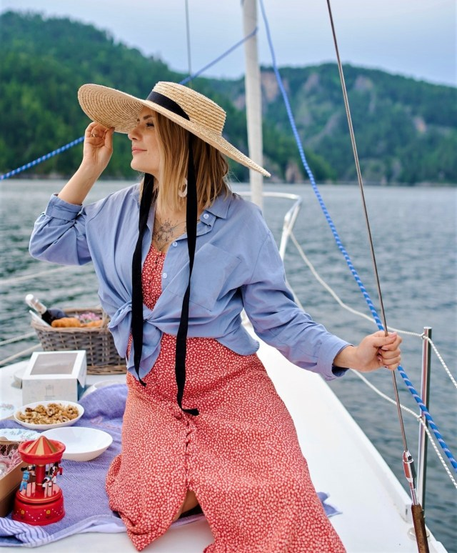 Sailing in a Yacht