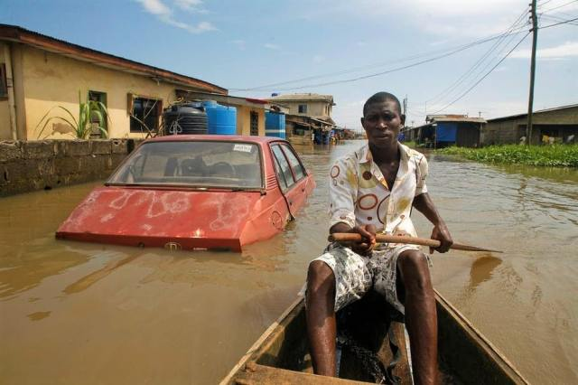 Lagos, Nigeria is sinking due to climate change