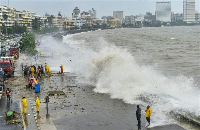 Mumbai, India is sinking due to climate change