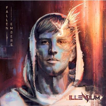 This image is another album cover of Illenium's.
