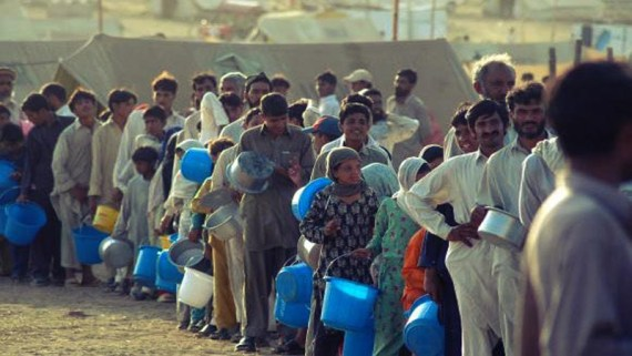 Crisis of water resources