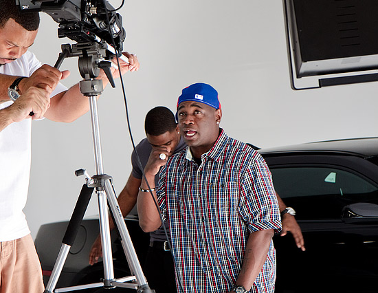 Quon Music Video I want it now being shot at the Studio