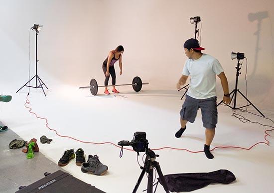 Sports Photography Shoot Studio Rental