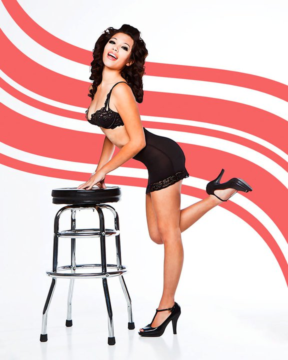 Amber Rose Motter does Pin-up with Orcatek Photography in Phoenix