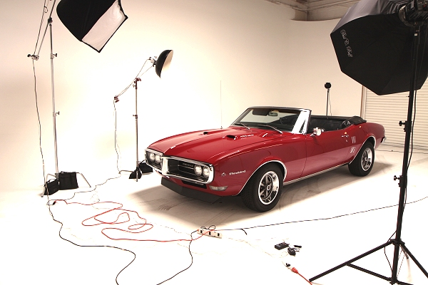 Red Car Shoot