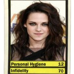 HOLLYWOOD TOP TRUMPS: Kristen Stewart