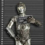 C-3PO ARRESTED IN GREECE