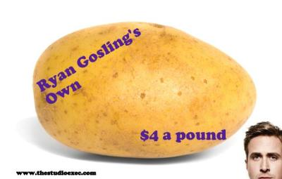 RYAN GOSLING VEGETABLES