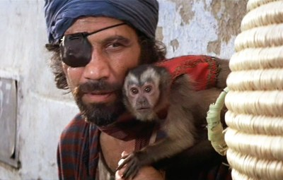 raiders of the lost ark monkey