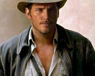 Chris pratt Indiana Jones
