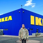 KANYE WEST CAPTURED IN IKEA