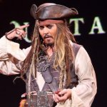 JOHNNY DEPP SPENDS A DAY NOT HITTING WOMEN