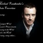 MICHAEL FASSBENDER'S FLUTE ALBUM A MASSIVE HIT IN GERMANY