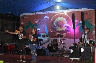 Konser musik jazz di Desa Teluk Meranti