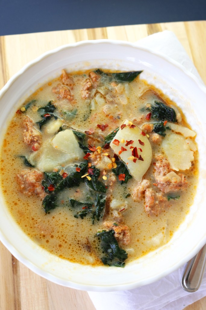 Gluten Free Dairy Free Italian Sausage Soup - The Study of Yum