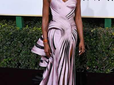2017 Golden Globe Awards Naomi Campbell