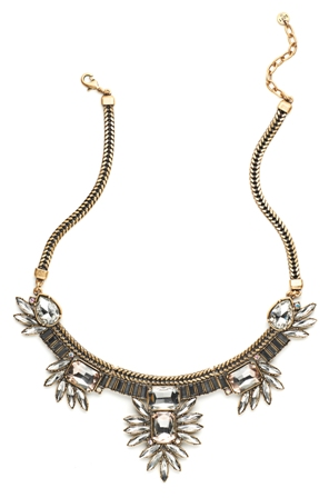 Live in Pink by Suzanna Dai Short Necklace, $69.50, loft.com