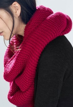 Double Layer Snood, $29.90, zara.com