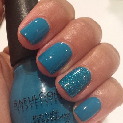 "Sinful Colors Professional Nail Polish in ""Savage"" and ""Nail Junkie"""