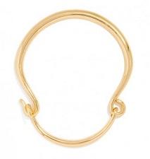 Gold Fishhook Choker Necklace, $44, baublebar.com