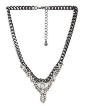 Rhinestone Statement Necklace, $10.90, forever21.com
