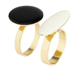 Two-Pack Rings, $5.95, hm.com