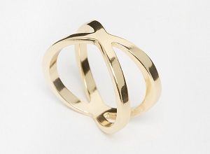 ASOS Kiss Ring, $10.50, asos.com