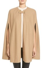 Wayf Collarless Woven Cape, $108, nordstrom.com