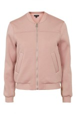 Punch Textured Bomber Jacket, $100, topshop.com