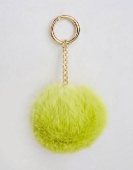 Oversized Pom Keychain, $13, asos.com