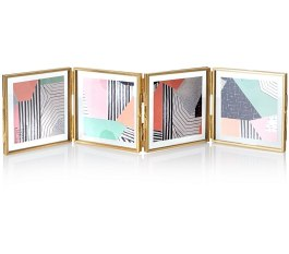 oliver-bonas_homeware_gold-and-glass-mini-square-multi-frame-4-x-4