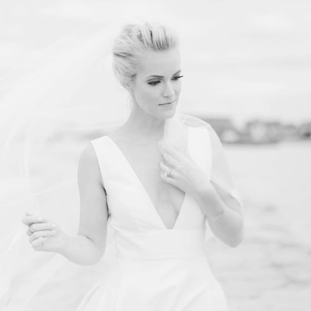 Cape May Private Home Wedding | www.thestyledbride.com