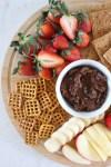 Simple Chocolate Chick Pea Dessert Hummus