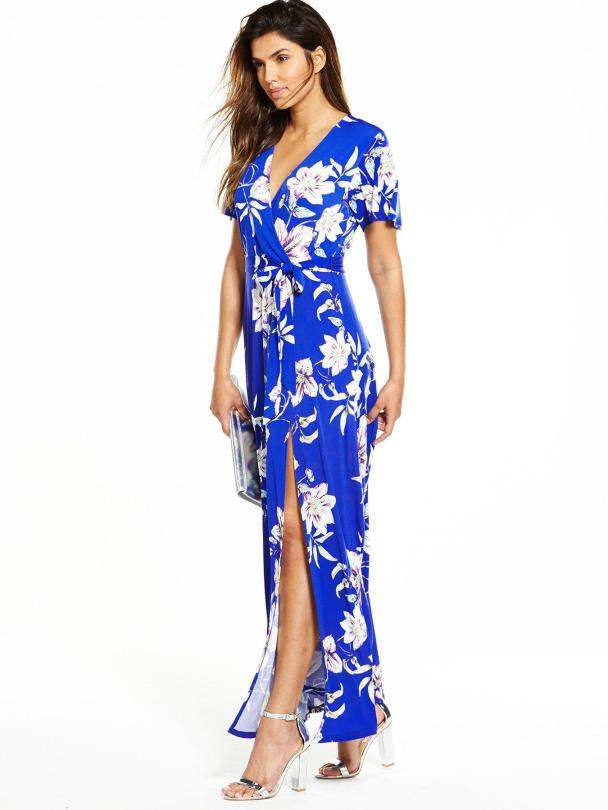 Wrap maxi dress, €45 Shop here