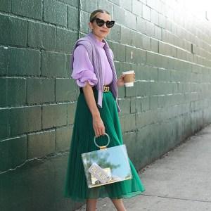 Moody Monday: Lilac & Green