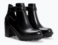 Zara Open Track Sole Booties