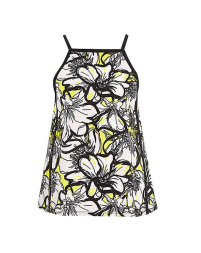 Yellow Floral Square Cami, £22