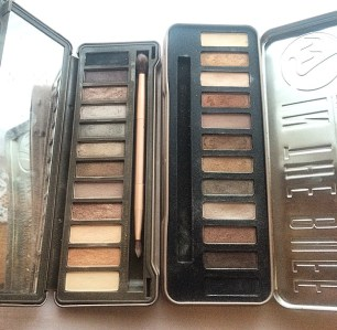 urban decay w7 buff eyeshadow palettes