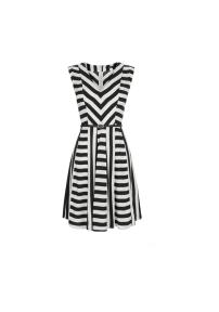 Oasis Striped Skater Dress