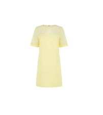 Warehouse Structured Shift Dress