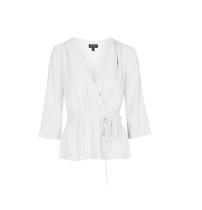 Ballet Wrap Long Sleeve Top, £34