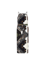Khaki Midi Slip Dress, £38