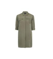 Oversized Cupro Shirtdress, £40