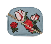 New Look Floral Embroidered Bag