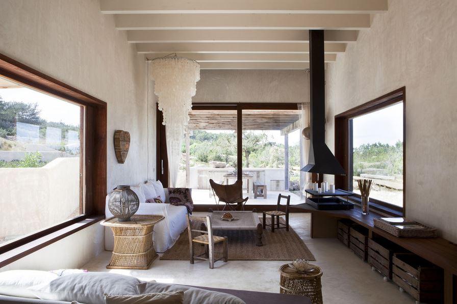 Formentera Casa Daniela soggiorno - The Style Lovers - The Style Lovers