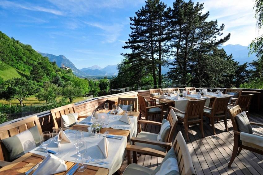 Liechtenstein Sonnenhof hotel lusso ristorante - thestylelovers.com