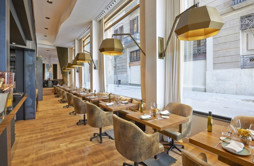 Luxury boutique hotel 5 stars Barcelona - Hotel The Serras Barcelona restaurant - thestylelovers.com