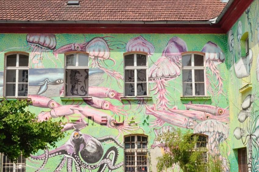 One day in Ljubljana Slovenia Metelkova - thestylelovers.com
