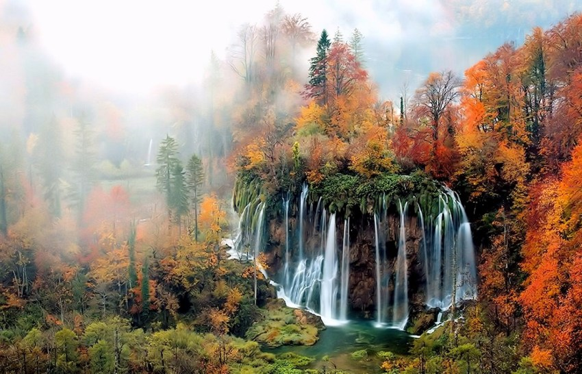 Plitvice - foliage in Italia e in Europa - thestylelovers.com